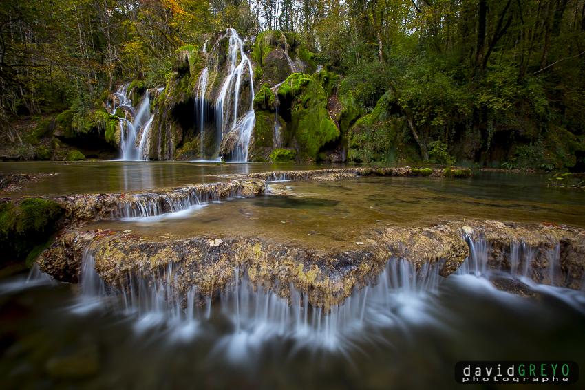 Cascades du Jura - France