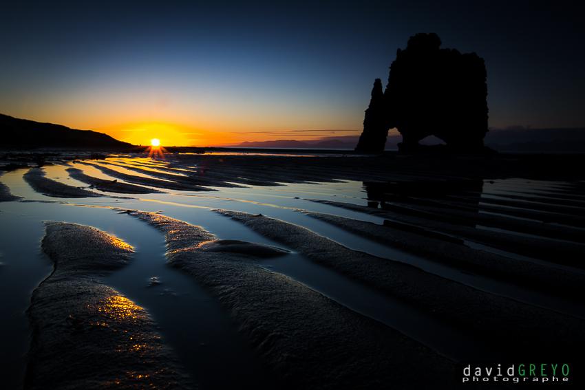 Soleil de minuit - Islande