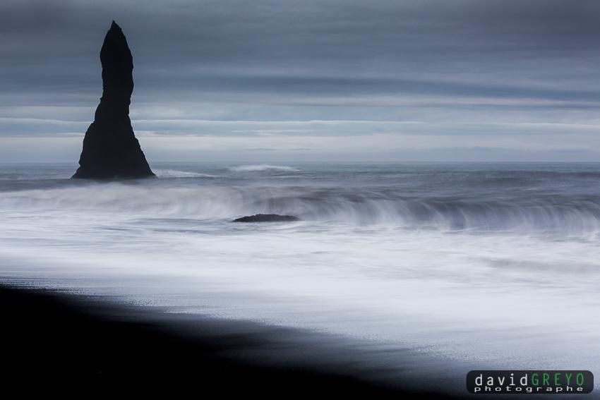 Côte volcanique - Islande
